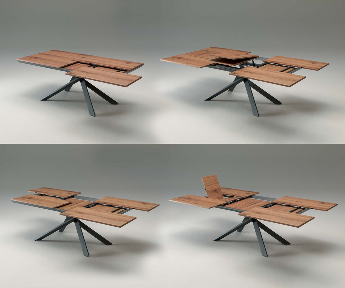 Couchtisch 100 Ozzio Dining Table 4x4 Transformable To On Behance