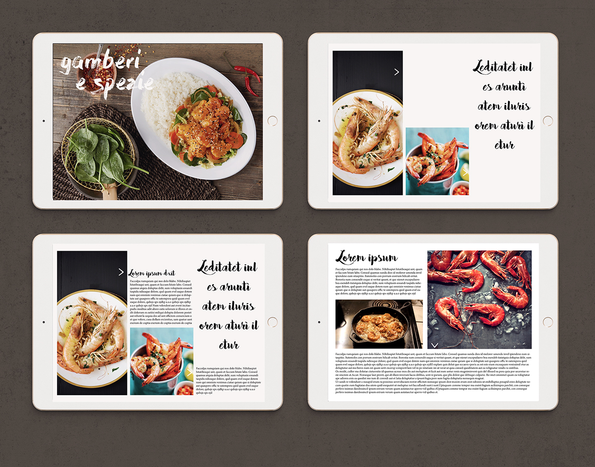 Cucina Italiana Video Digital Magazine Restyling La Cucina Italiana On Behance