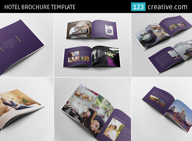 Hotel Brochure Template (InDesign, Photoshop) on Behance - hotel brochure template