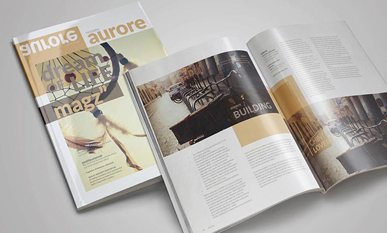FREE Indesign Magazine Template on Behance