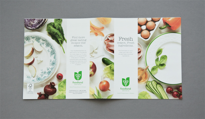 FOODLAND SPRING RECIPE BOOK 2012 on Behance - product brochures