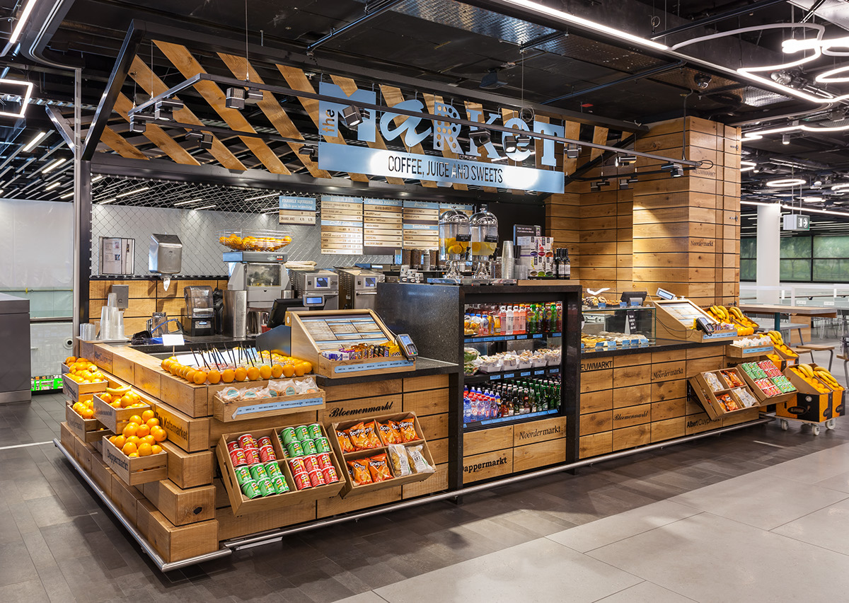 Coffee Concept Amsterdam Schiphol Street Food Market Hmshost On Behance