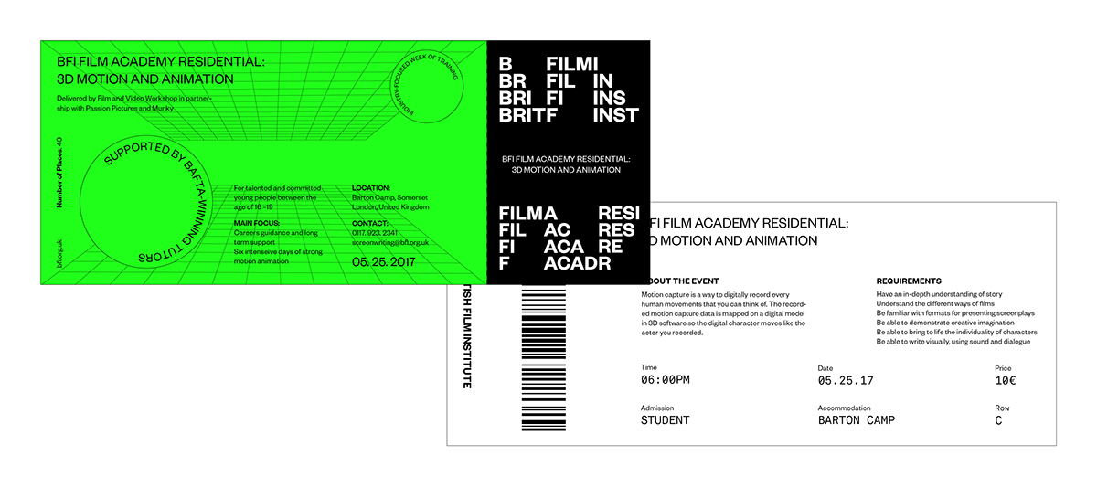 BRITISH FILM INSTITUTE on Behance - appreciation email