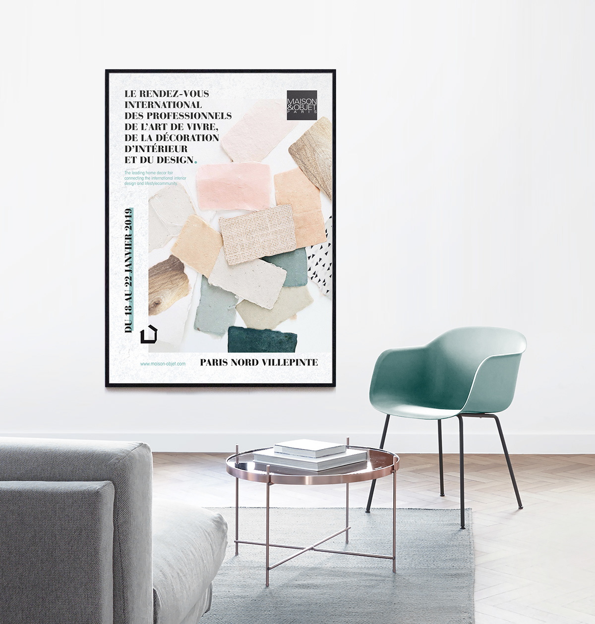 Salon Deco Villepinte Salon Maison Objet Poster Emailing On Behance