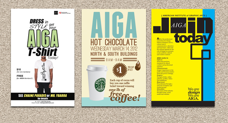 AIGA Posters on Behance - american institute of graphic arts