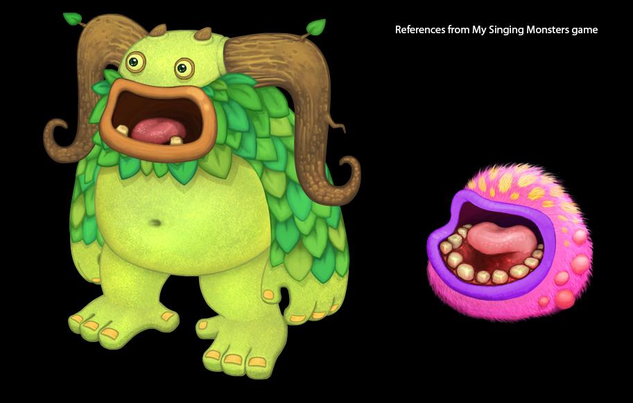 My Singing Monsters - miniature fan art on Behance