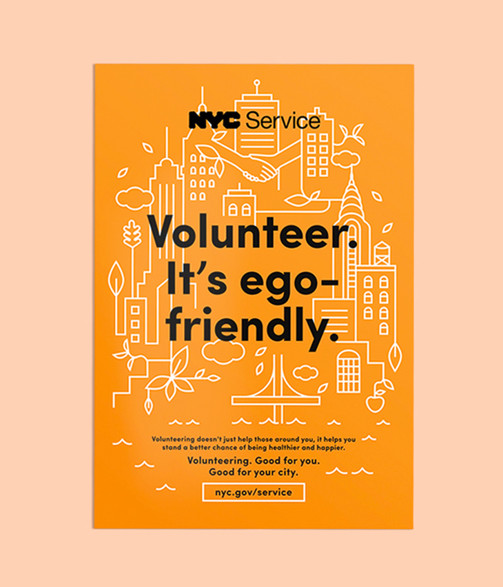 NYC Service Poster Campaign on Behance - poster on line