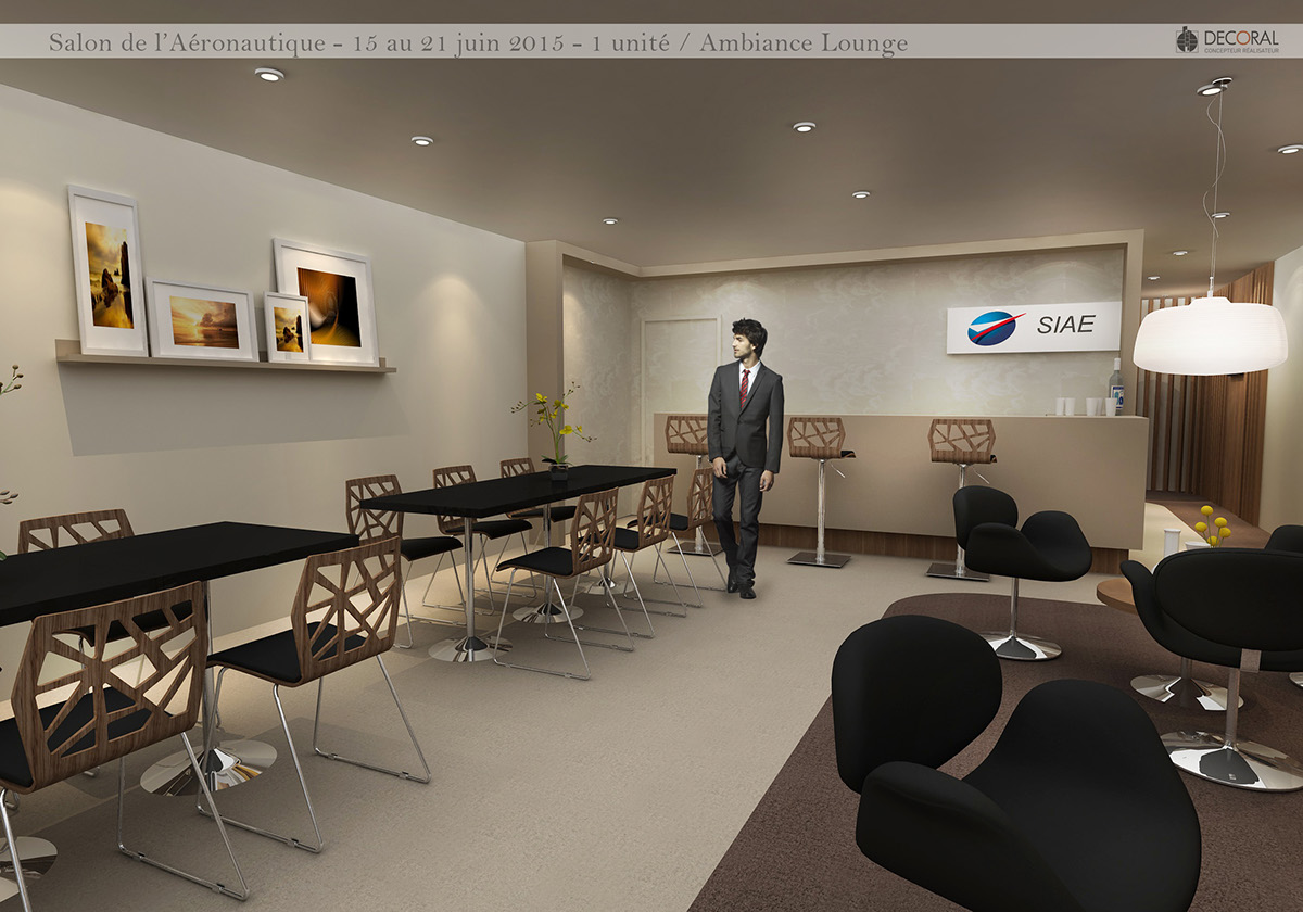 Salon Aeronautique Salon Aeronautique Bourget Chalet Siae On Behance
