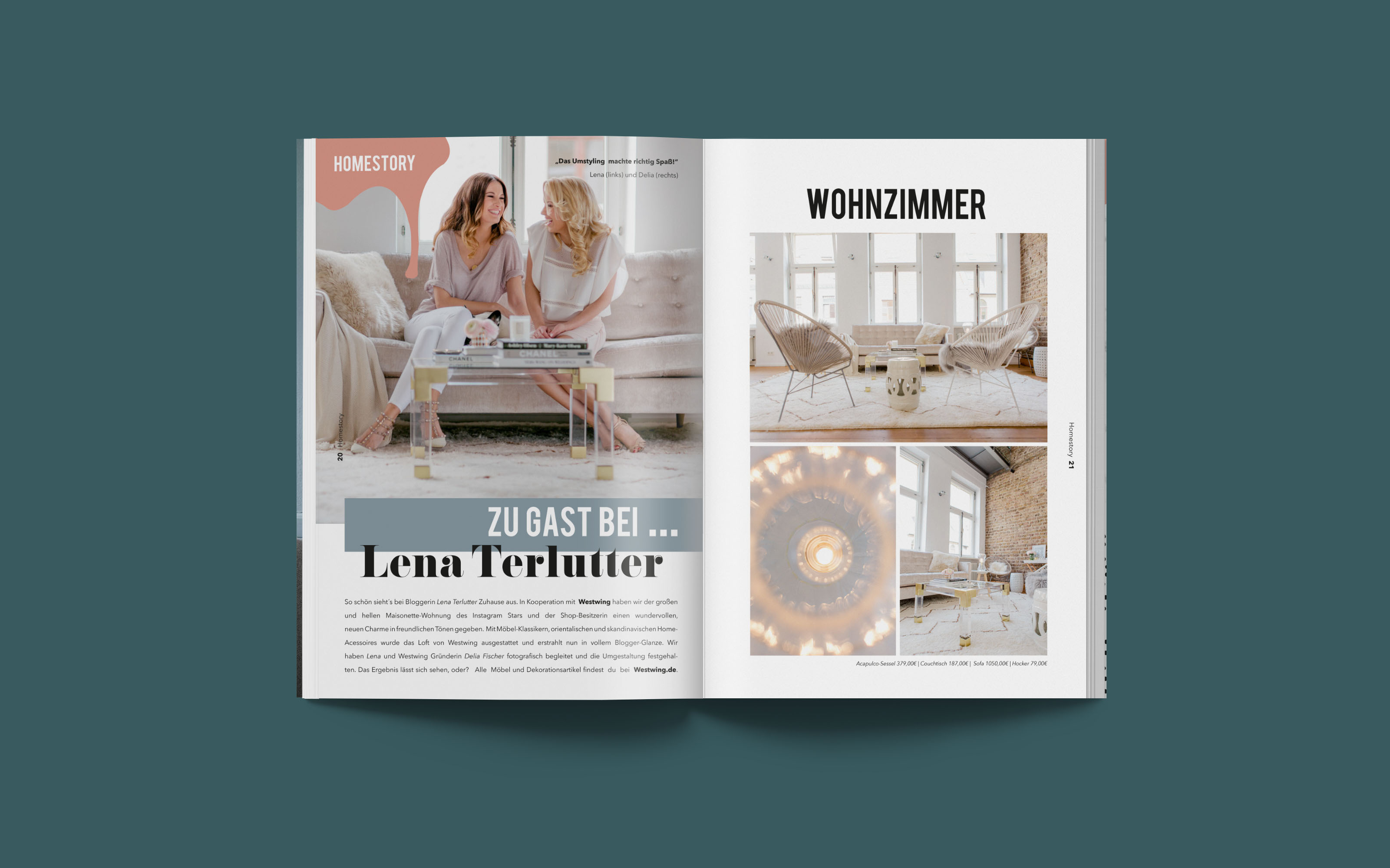 Couchtisch Lena Magazine Interior On Behance
