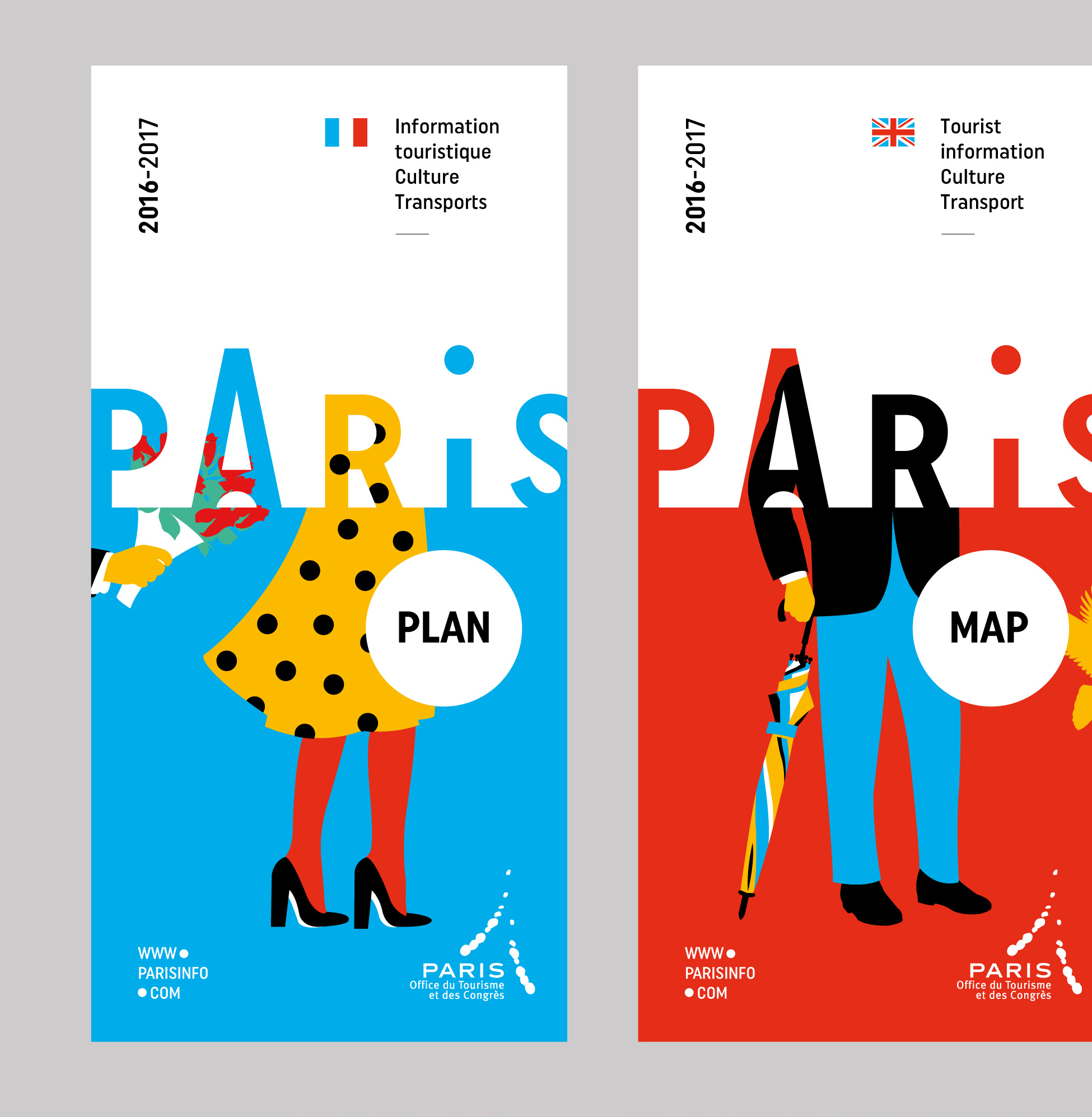 Paris Office Du Tourisme Paris Convention And Visitors Bureau Brand Design On Behance