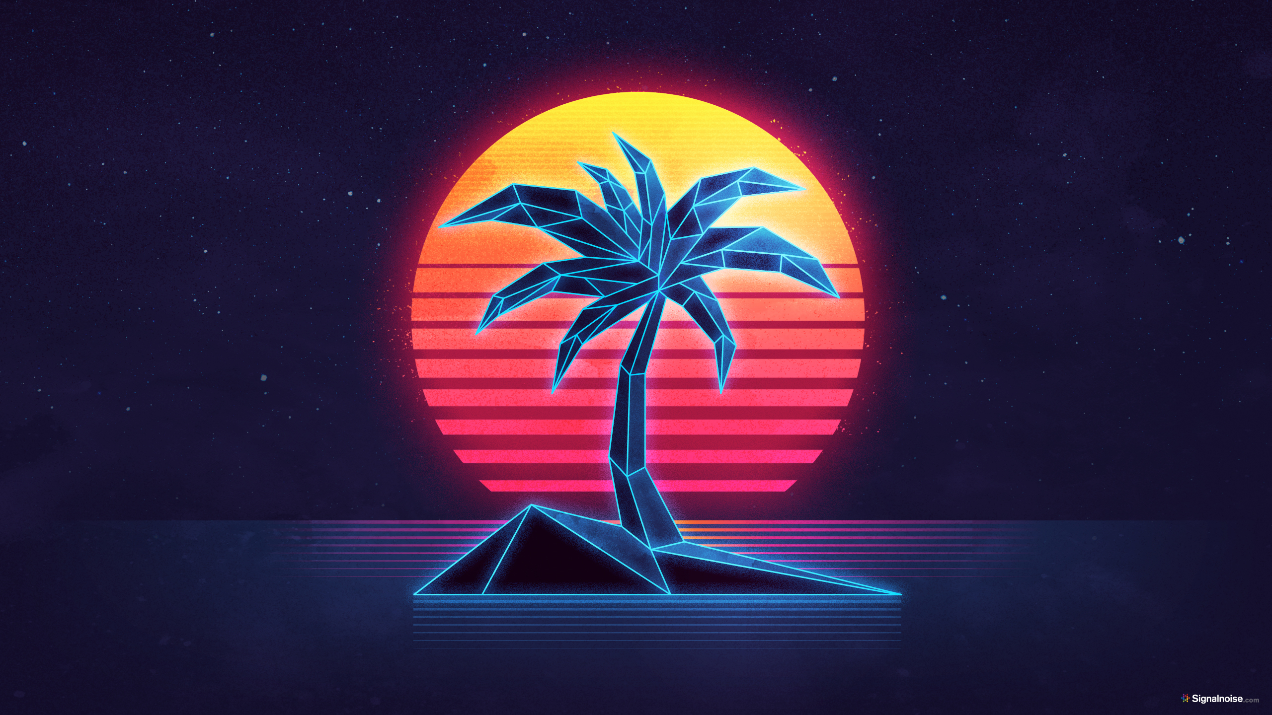 1920 Car Synthwave Wallpaper Signalnoise The Work Of James White