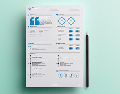 Personal Resume  Promotion on Behance - my personal resume