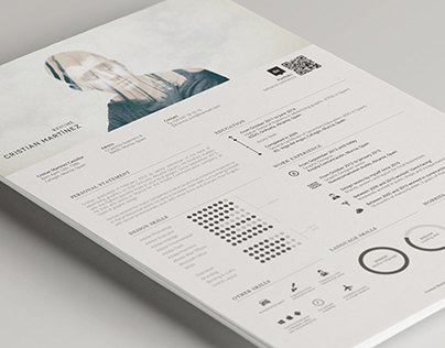 Resume / Curriculum Vitae on Behance - what is a resume cv