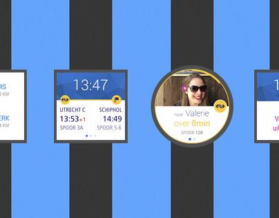 NSnl Reisplanner - website UX/UI design on Behance