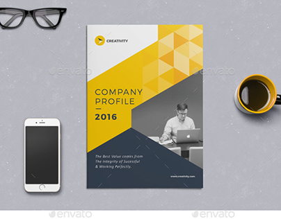 The Company Profile on Behance - company profile