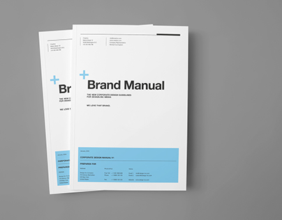 Brand Manual on Behance - resume indesign template