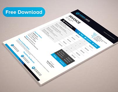 invoice design - Towerssconstruction