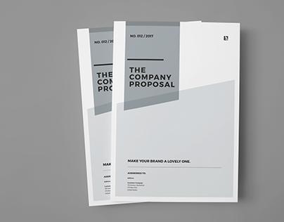 Proposal Design on Behance - design proposal