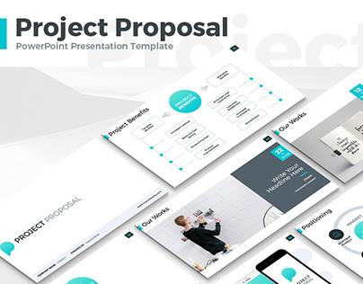 Project Proposal Presentation Template on Behance - powerpoint proposal template
