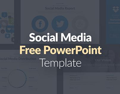 FREE POWERPOINT TEMPLATE - SOCIAL MEDIA PRESENTATION on Behance