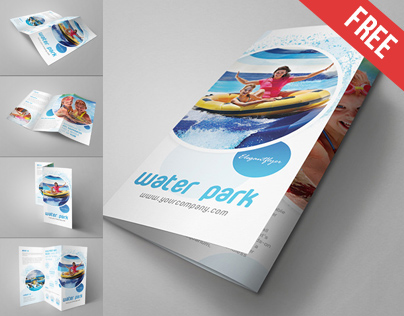 5 Free Tri-fold Brochure MockUps on Behance - Tri Fold Brochures Free