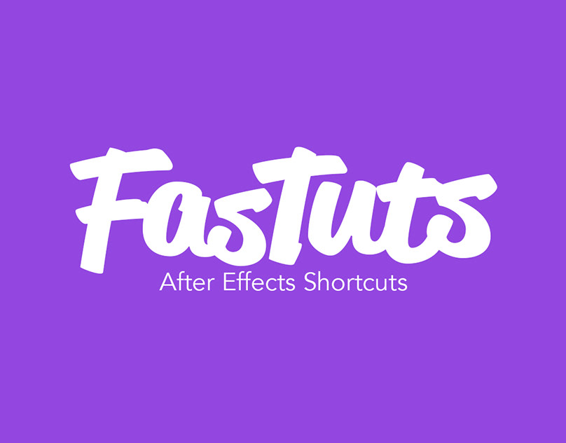 FasTuts After Effects Shortcuts on Behance