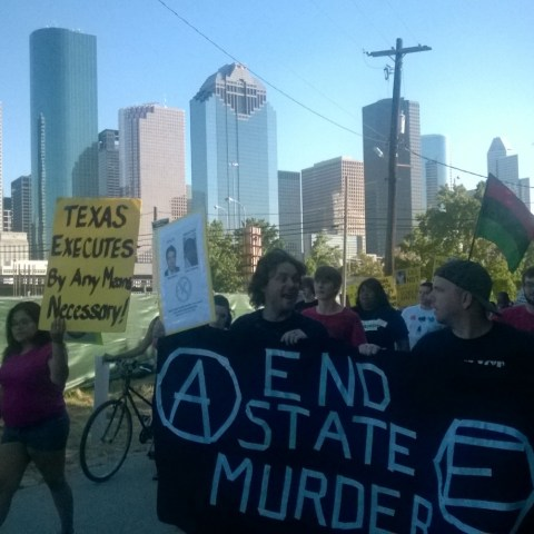 Houston group protests Texas' death penalty