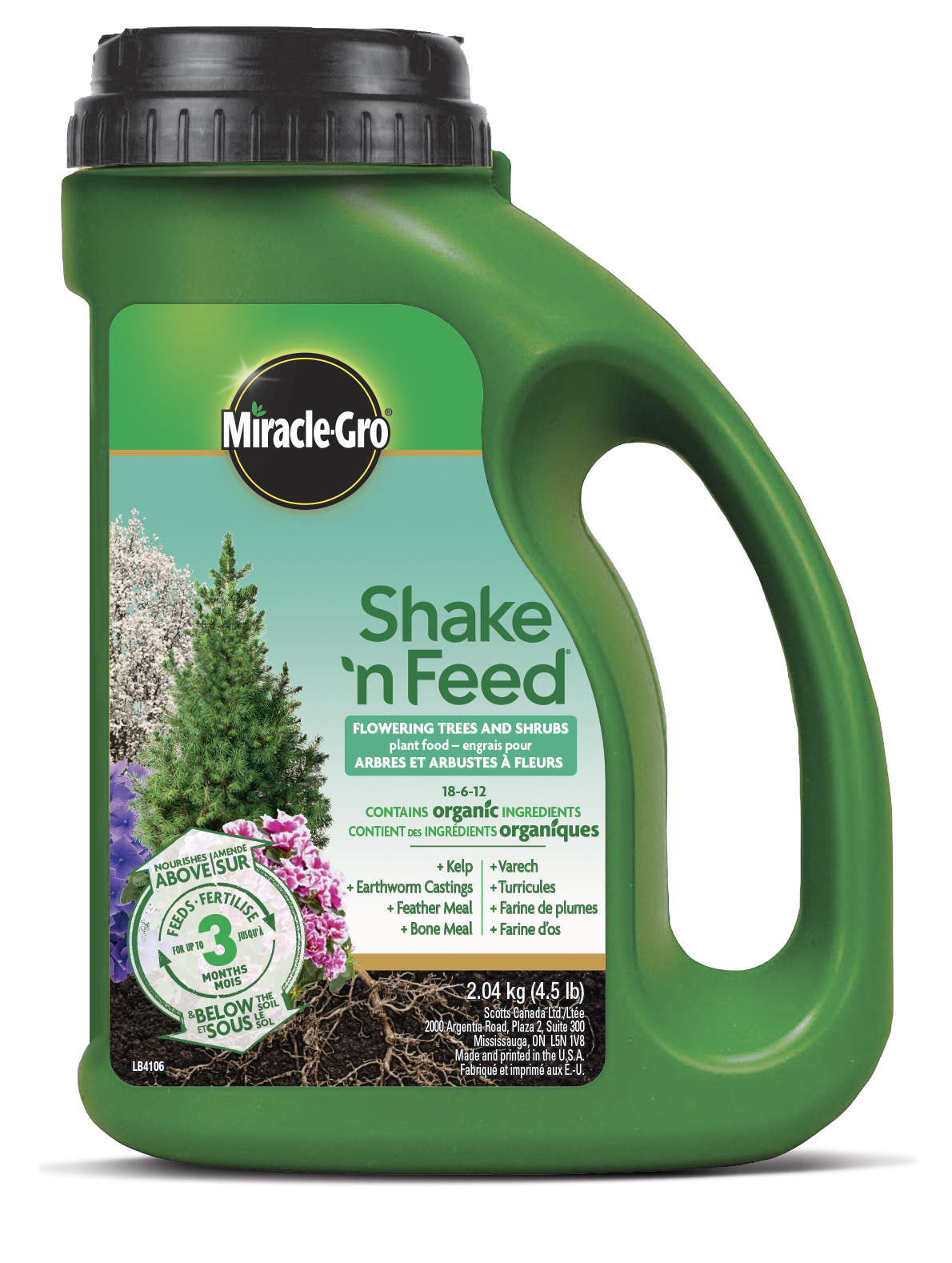 Trees And Shrubs Miracle Gro Shake N Feed Flowering Trees Shrubs Plant Food 18 6 12