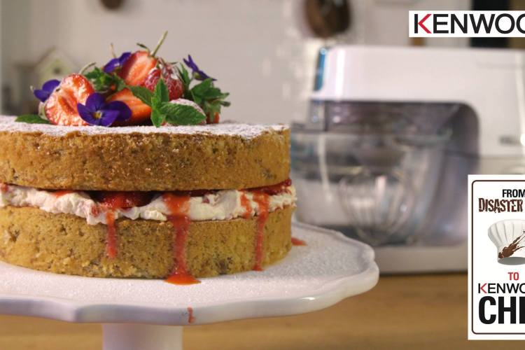 Kenwood Disaster Chef – Walnut Cake