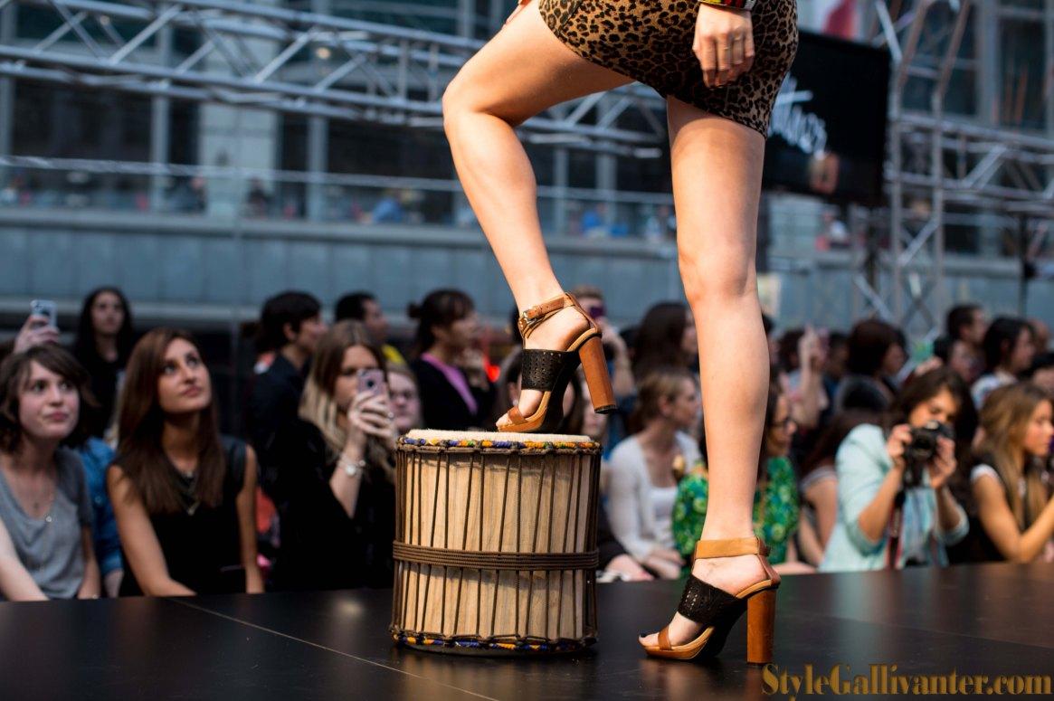 msfw 2013 shoe runway