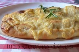 Calzone de jamón y queso