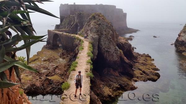 Fortaleza en Isla Berlenga