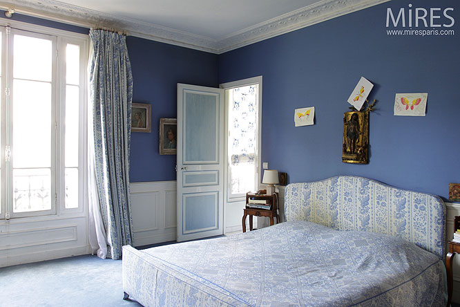 Deco Chambre Photo Bleu De Nuit. C0141 | Mires Paris
