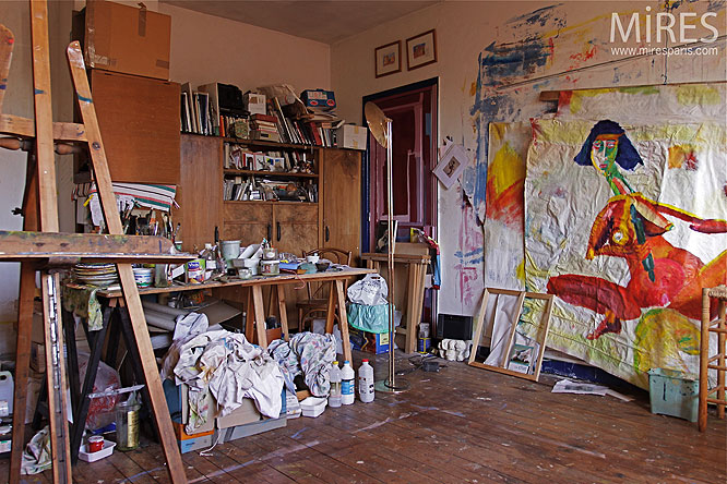 Amenagement Petit Garage Atelier Peinture. C0241 | Mires Paris