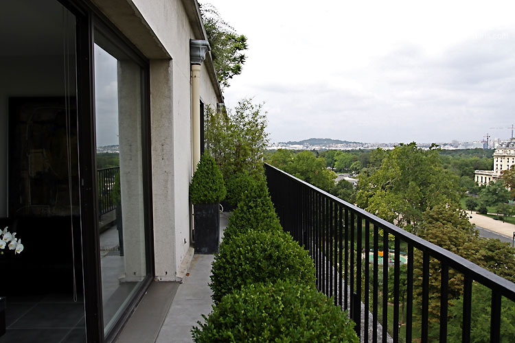 Amenagement Terrasse Rooftop Balcon Moderne. C0388 | Mires Paris
