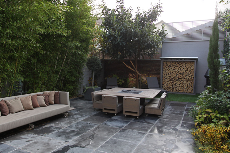 Salon Jardin Balcon Terrasse-salon De Style Flamand. C0649 | Mires Paris
