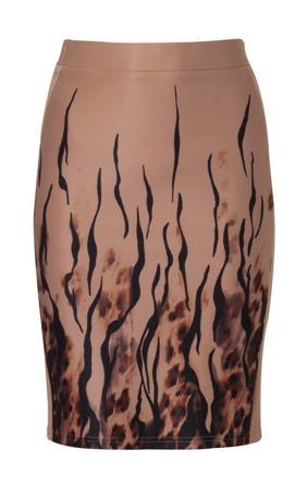 TWENTYFOURSEVEN חצאית פאנל מודפסת 189.9 שח צילום קית גלסמן 6132015 (Custom)