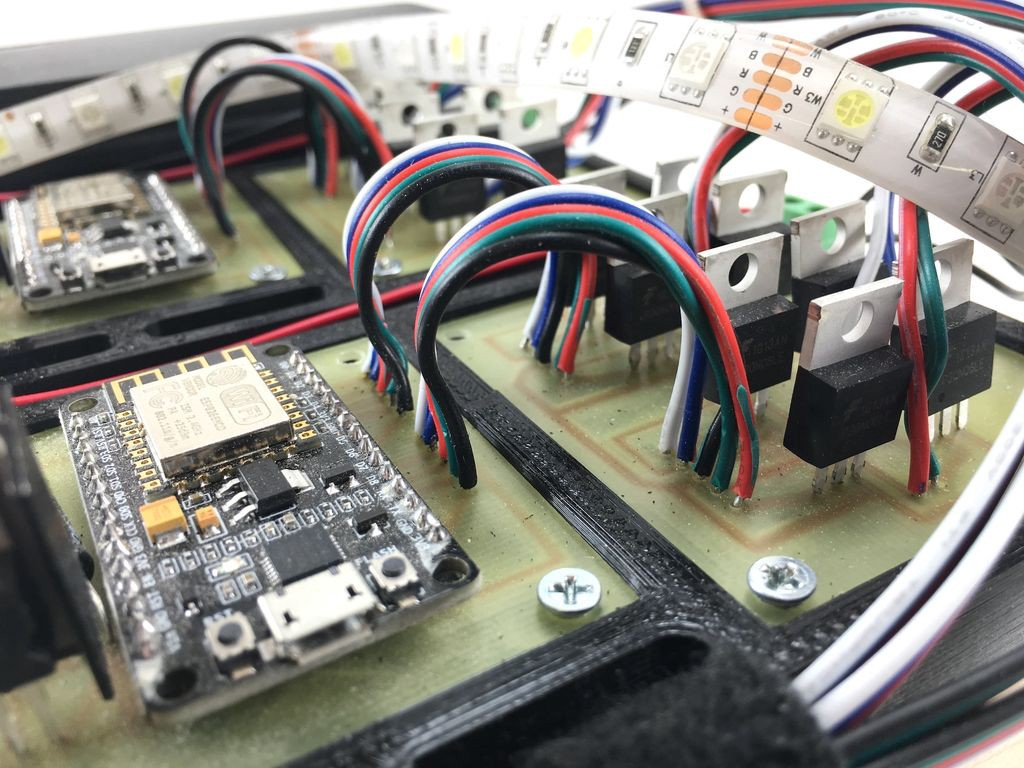 12v Led Controller Build Your Own Wi Fi Led Light Strip Controller Using The
