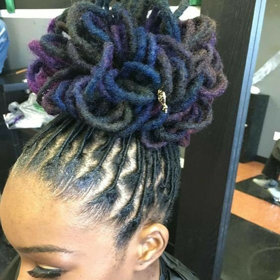 Easy Female Hairstyles Amazing Simple Short Dreadlocks Styles For Ladies By