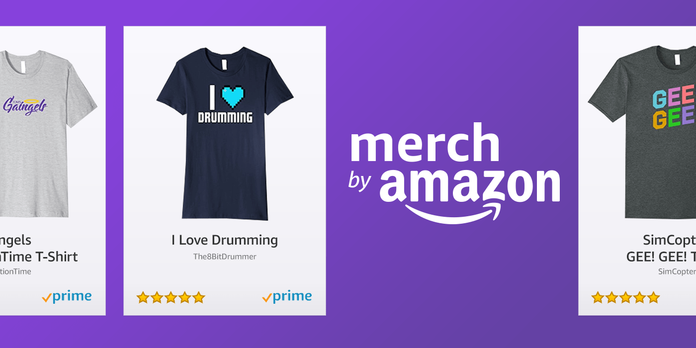 Amazon Now Twitch Partner Merch Is Now On Amazon Twitch Blog