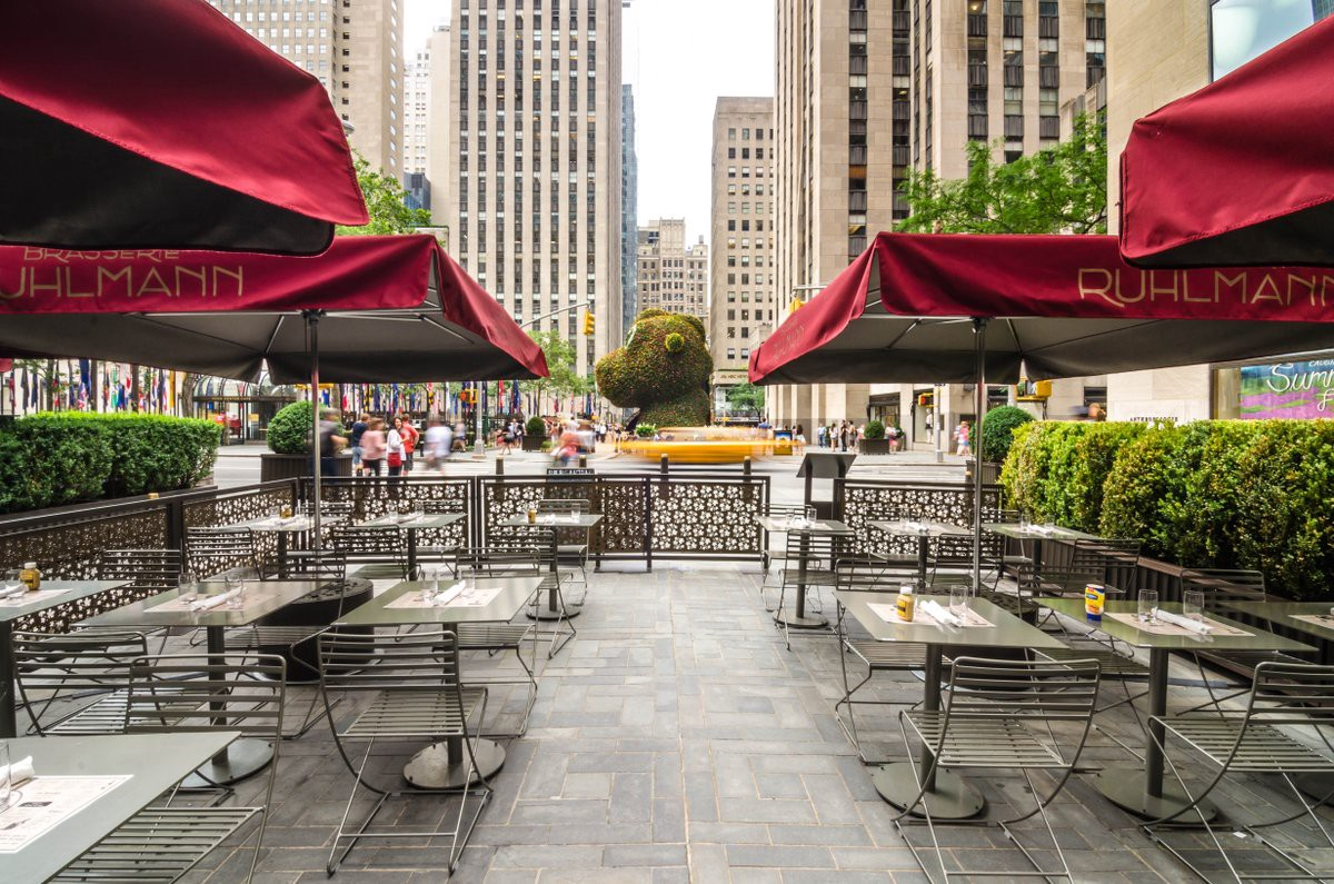 Cucina Restaurant Rockefeller Center 2019 Outdoor Events Guide Sidewalk Patios Terraces In New