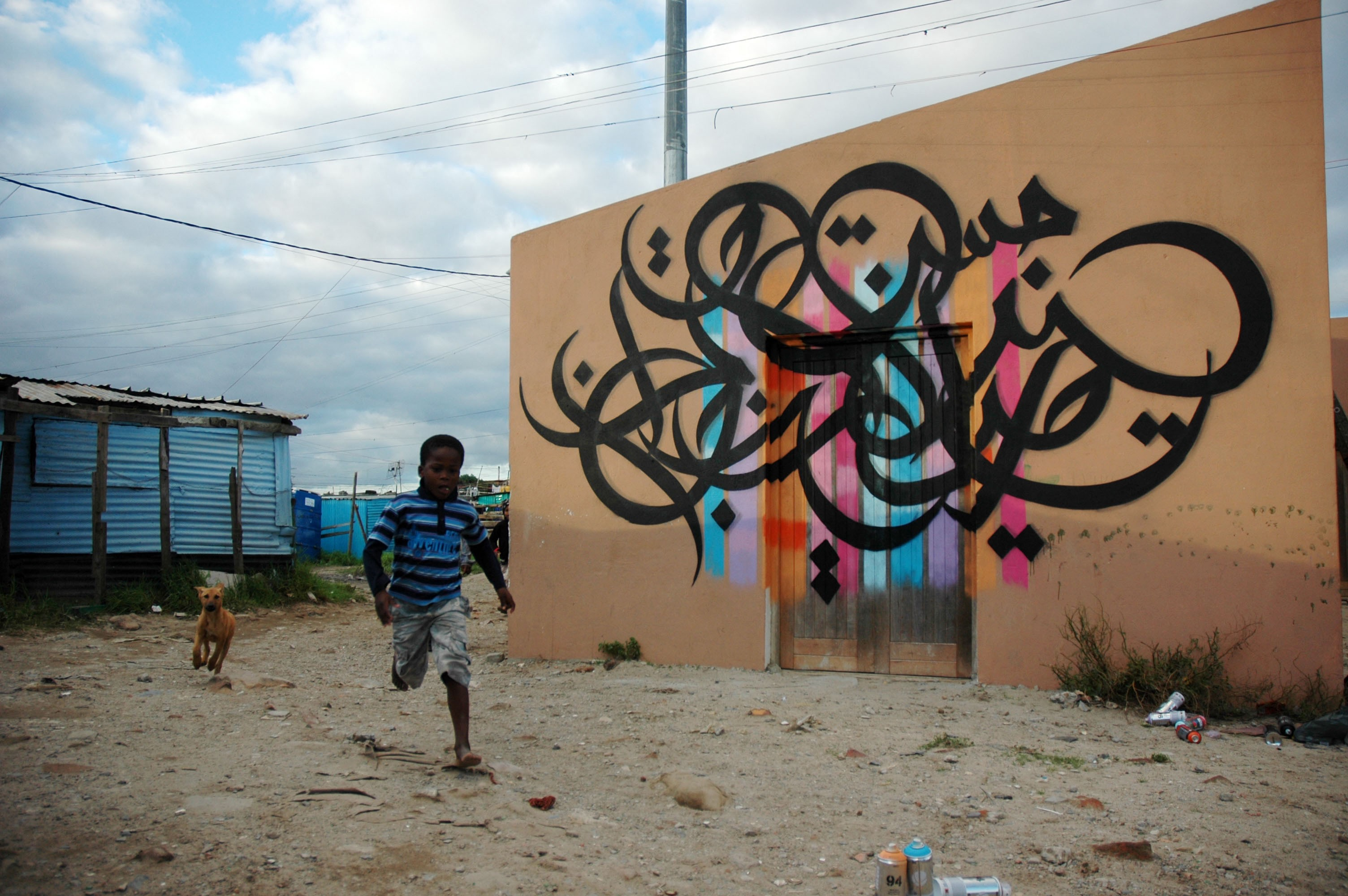 How One Street Artist Is Spreading Peace Around The World With Arabic Calligraphy By Karen Frances Eng Ted Fellows