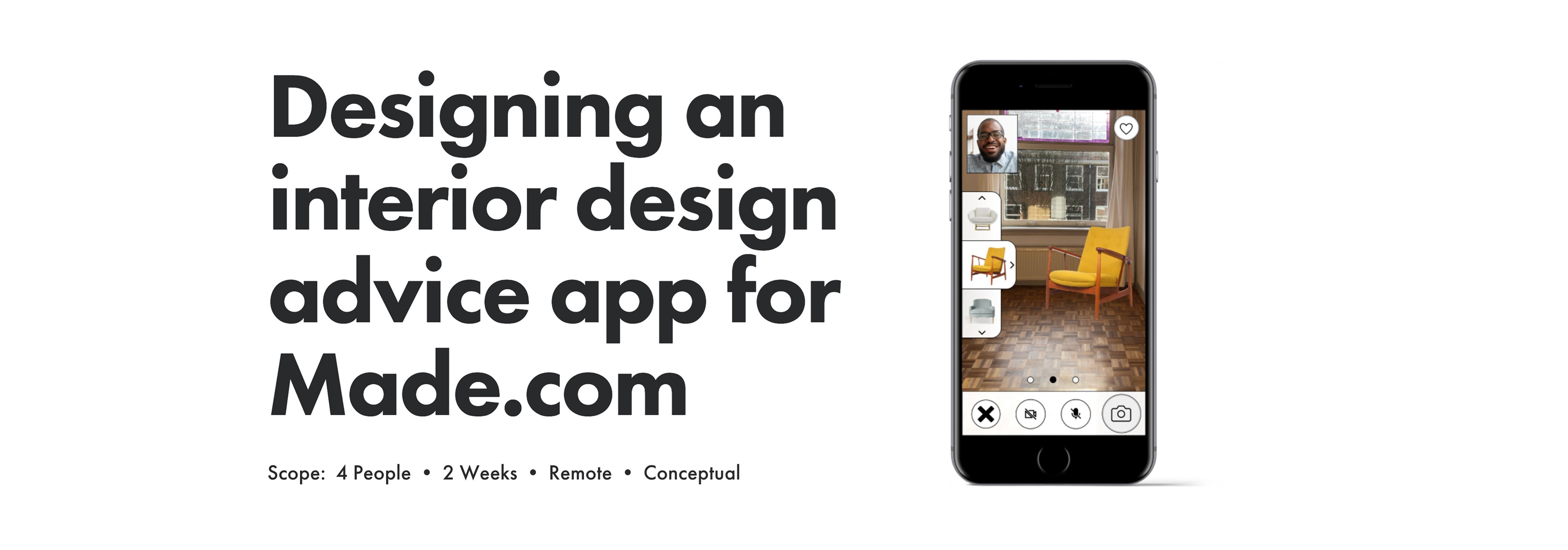 Case Study Designing An Interior Design Advice App For Made Com By Chad Cheverier Apr 2021 Bootcamp