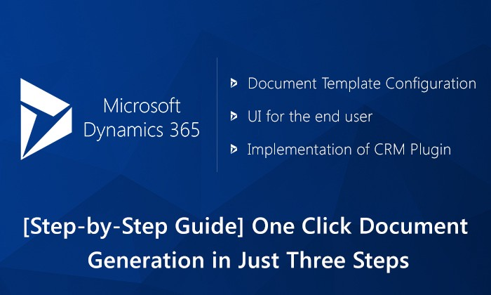 Step-by-Step Guide Configure Document Generation Functionality in