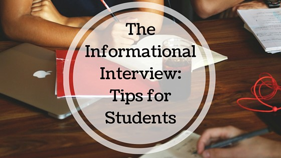 The Informational Interview Tips for Students Considering Law School