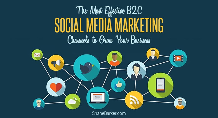 The Most Effective B2C Social Media Marketing Channels to Grow Your