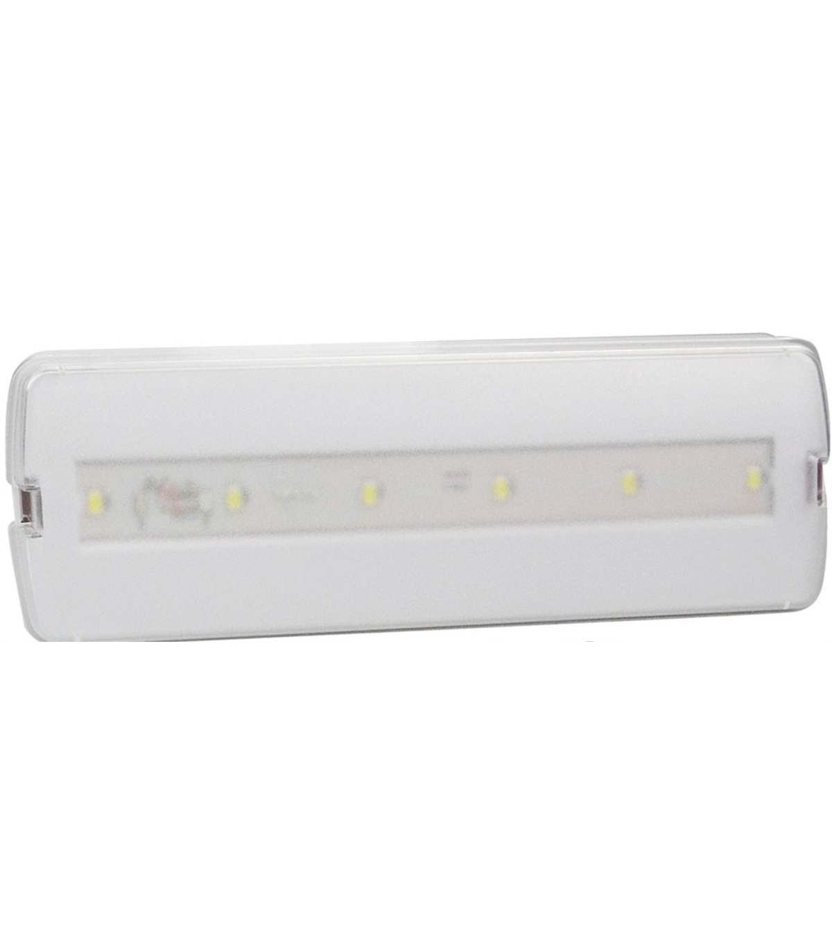 Emergencia Led Llemergencia300 6 Luz De Emergência Led Aplique 3w