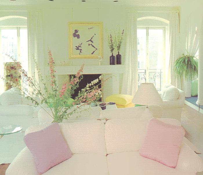 Pastels an 80s interior design trend mirror80