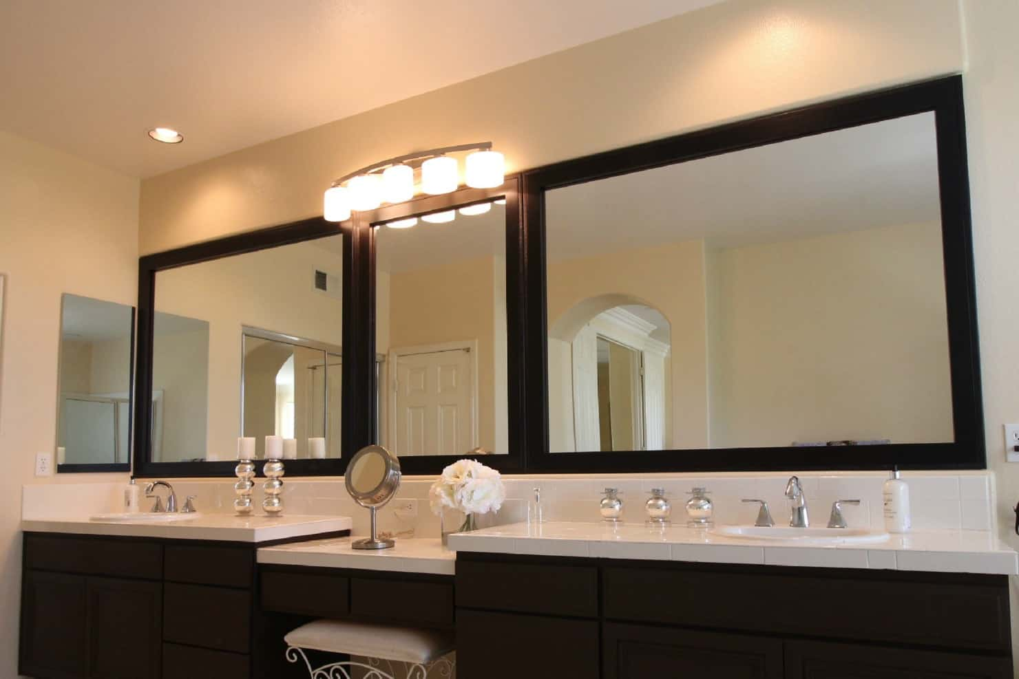 Large Mirror Mirror Frame Kits For Existing Mirrors Mirrorchic