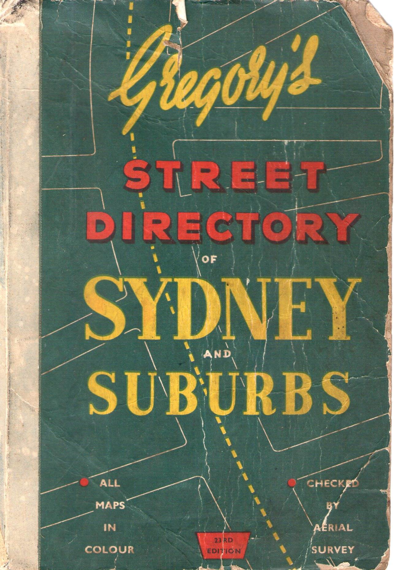 Map Store Sydney A Short History Of Sydney Cartography